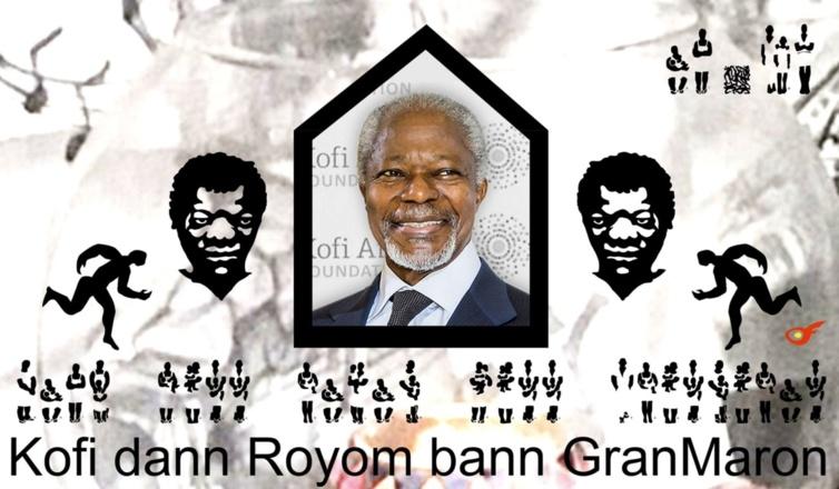 Kofi Annan, dann Royom Ban GrandMaron