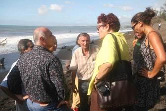 En mars 2007, après le passage du cyclone Gamède, Bernard Marek au commande avec l'équipe municipale et la Drac pour écrire une nouvelle page de notre histoire.