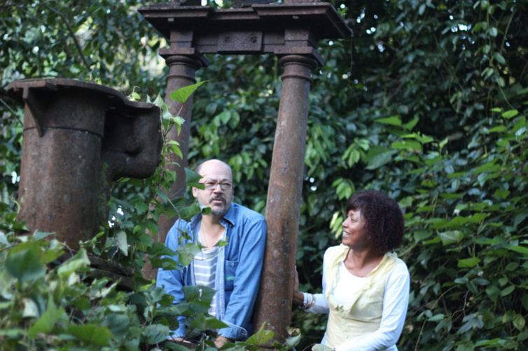 Aline Murin Hoarau : patrimoine caché de la Roseraye