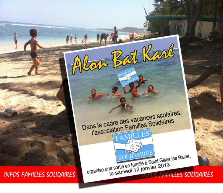 Des vacances la plage avec Familles Solidaires