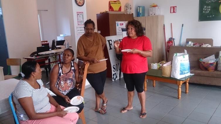 Fête des voisins : Avec les mamans de Bagatelle