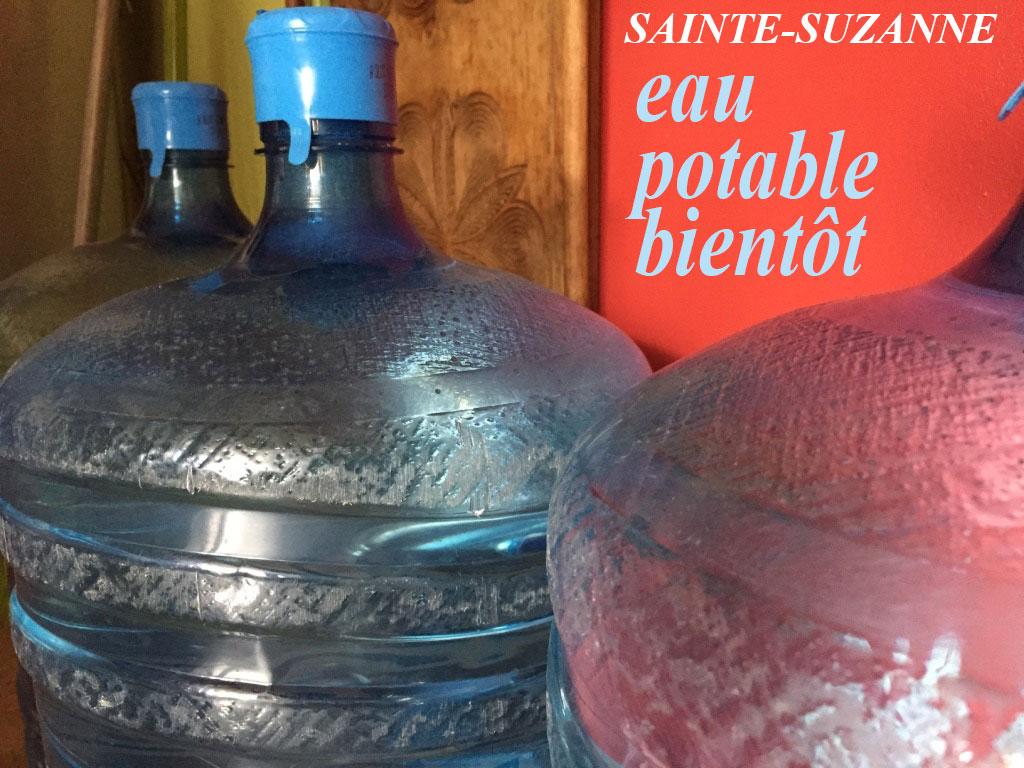 Attendre 2018 pour avoir de l'eau potable à Sainte-Suzanne