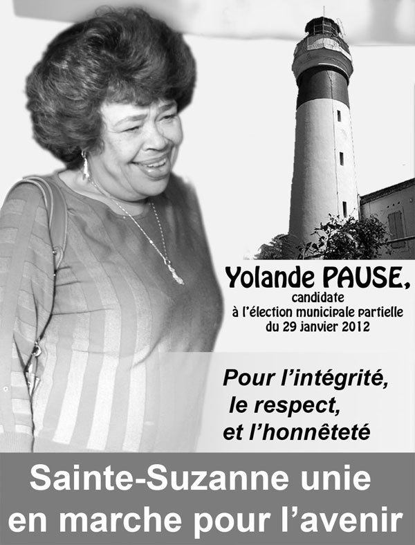Sainte-Suzanne : la dynamique de l'union pour l'avenir se renforce autour de Yolande Pausé