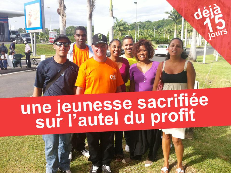 Deux semaines de grève pour 50 euros.