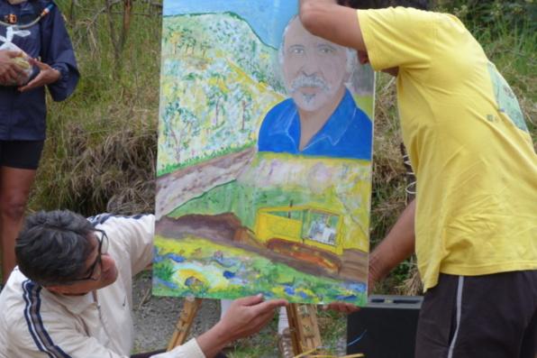 Le portrait de Jean Dubard, l'Entredeusien qui a contribué à la réalisation de la piste du Dimitile.