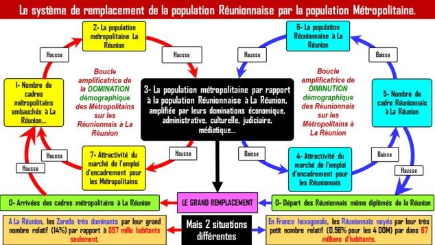 LES SOURCES RÉVÉLÉES DU GRAND REMPLACEMENT ORGANISE DE LA POPULATION REUNIONNAISE