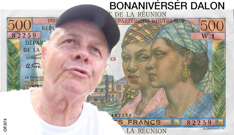 Nous fêtons l'anniversaire de Jean-Claude BARRET