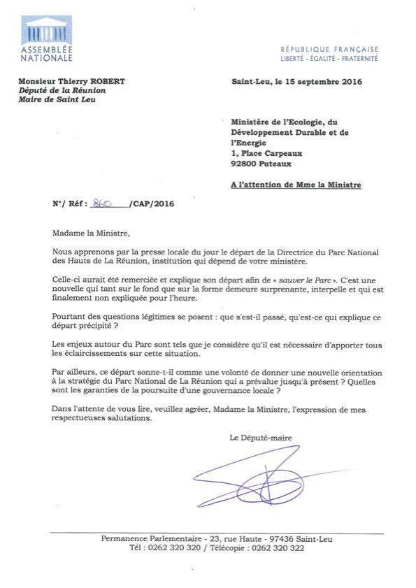 Pourquoi la directrice du Parc National de La Réunion a été contrainte au départ ?