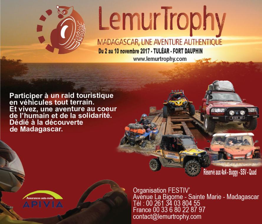 2ème ÉDITION DU LÉMUR TROPHY - MADAGASCAR