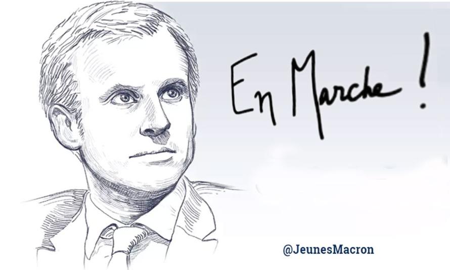 Emmanuel Macron en marche vers la présidentielle