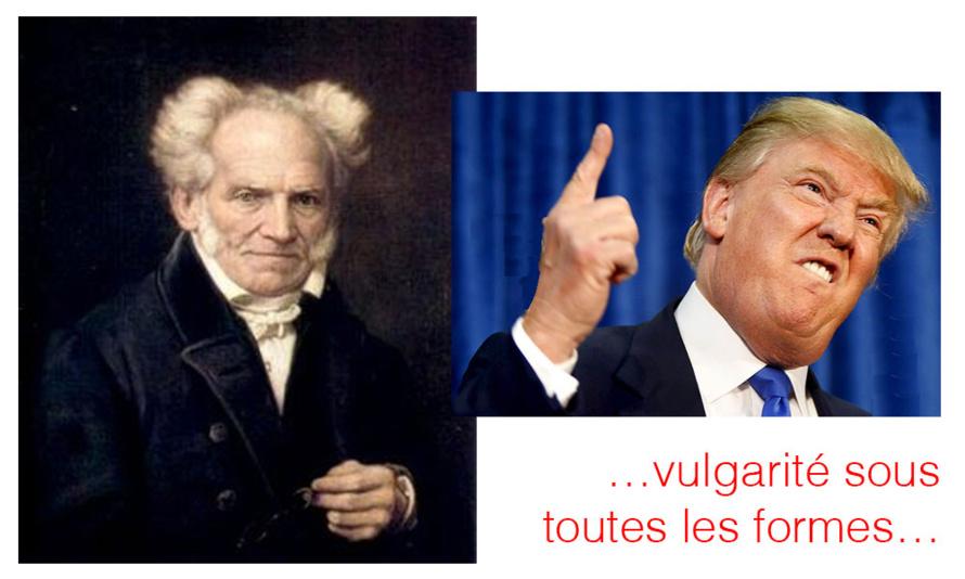 Arthur Schopenhauer connaissait déjà, si bien, Donald Trump ?