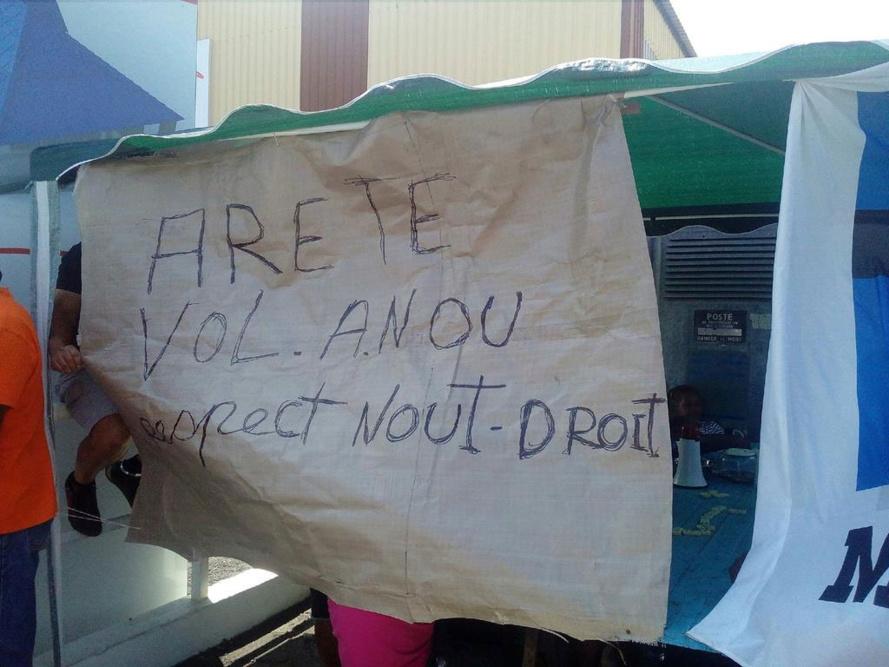 """La """"Tole Péi"""" en grève"""