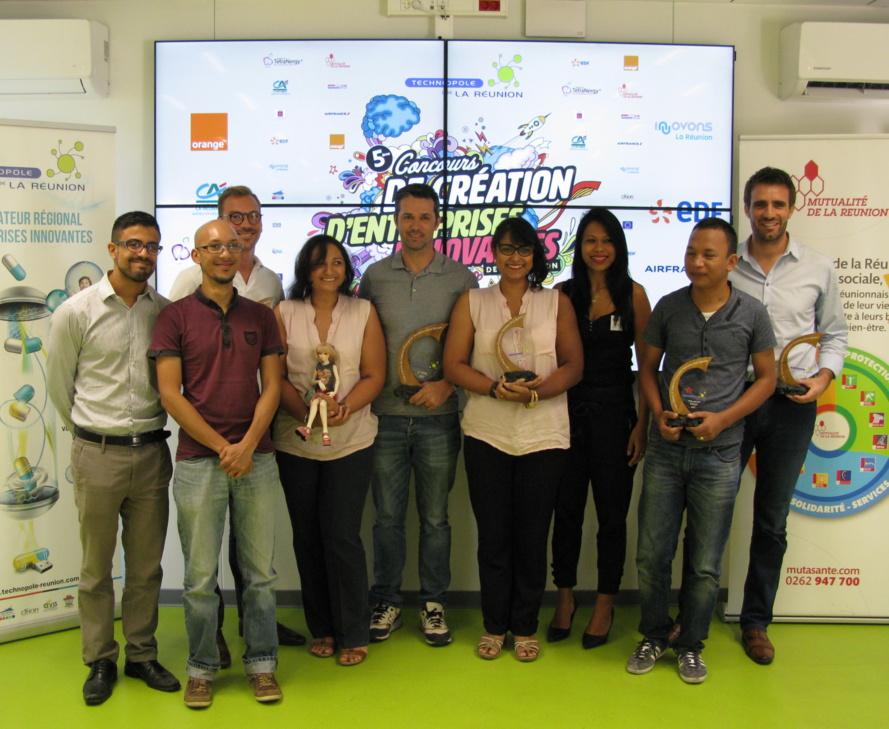 Les lauréats du concours 2017