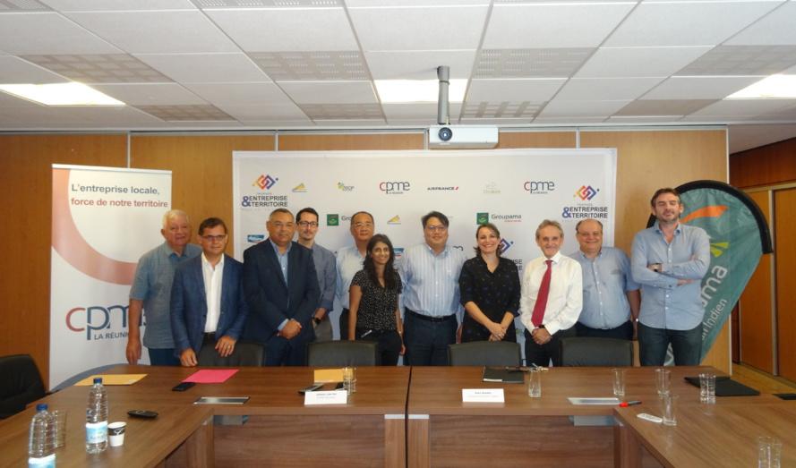 La CPME réunion et Groupama Océan Indien présentent la 2ème édition du Trophéee Entreprise & Territoire