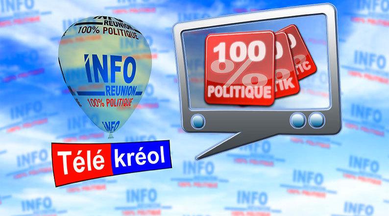 """Télékréol : le calendrier desenregistrements de l'émission """"100%politique"""" par canton"""