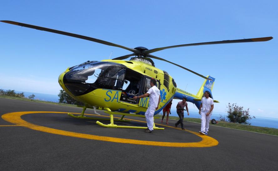La Réunion dispose de son hélicoptère exclusivement dédié au SAMU
