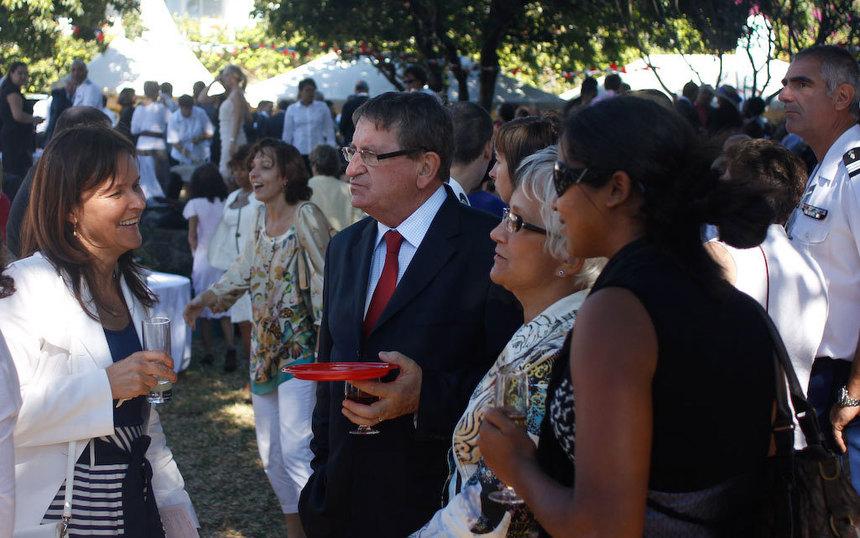 Le conseiller régional Dominique Fournel, cette année encore, ne s'est pas défilé. Il était à son poste à l'heure prévue. Un politique à la rigueur militaire...