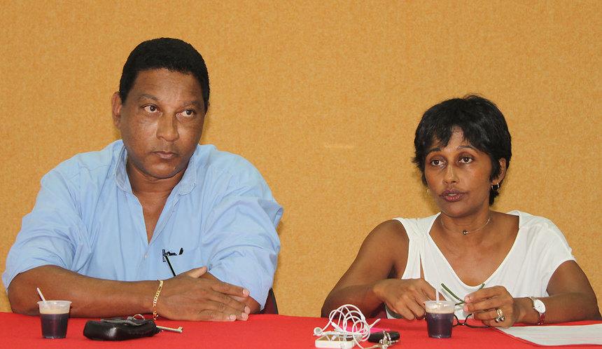 Ericka Bareigts, Mickaël Nativel et Alain Armand, le PS partirait divisé sur la première circonscription