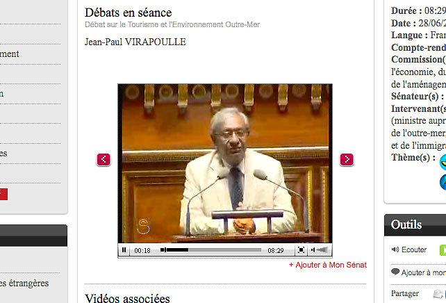 """Jean-Paul Virapoullé : """"Anne-Marie Payet œuvre pour la santé"""""""
