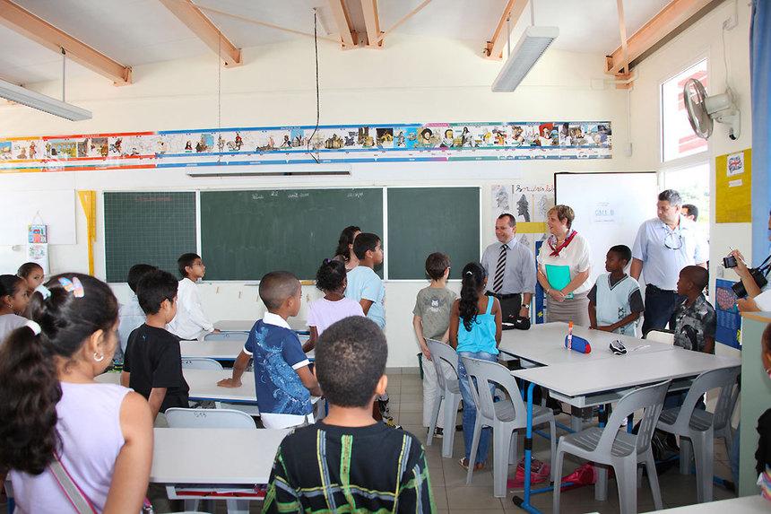 """Eric Fruteau : """"Faire de l'éducation et de l'épanouissement humain, unepriorité"""""""