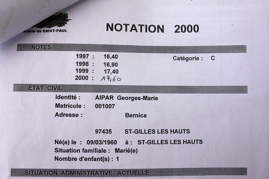Georges-Marie Aipar, son somin granboi…