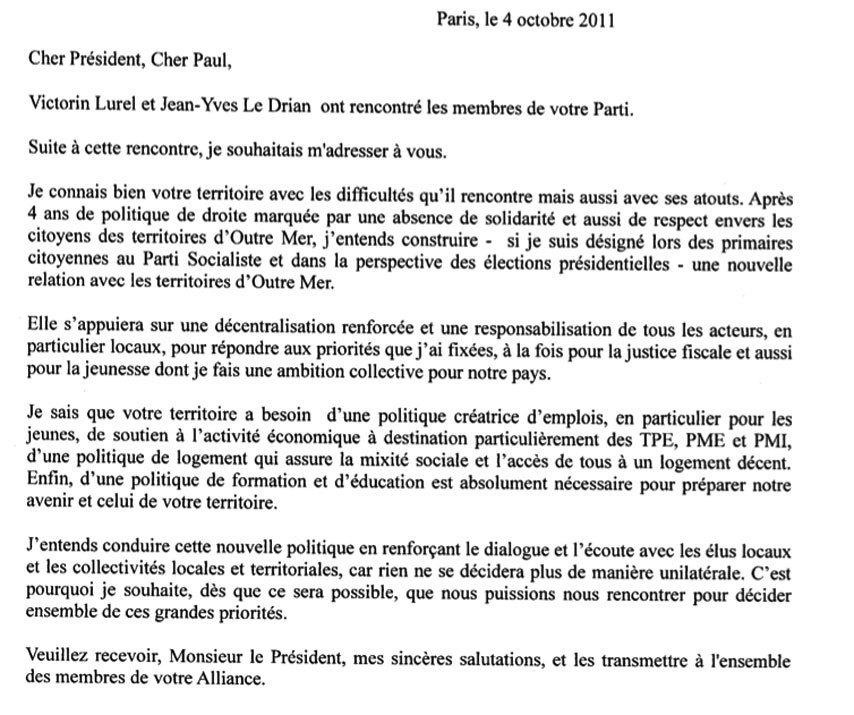 François Hollande et Paul Vergès se rencontreront pour discuter duprojet réunionnais pourlaPrésidentielle