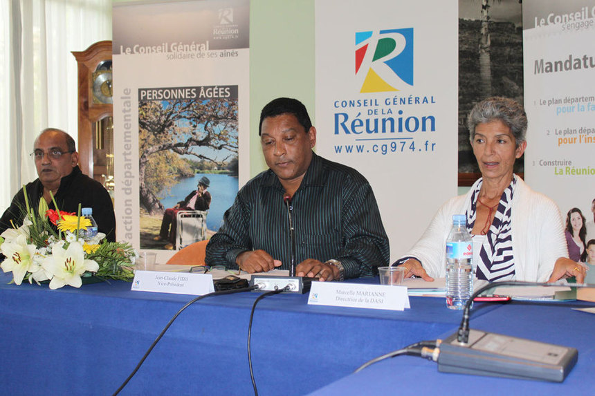 """Jean-Claude Fidji : """"Favoriser le maintien à domicile et les familles d'accueil pour les personnes âgées"""""""