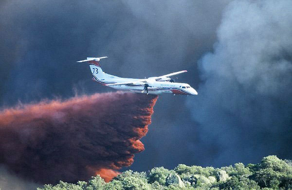 Le feu est circonscrit sur le secteur Sud