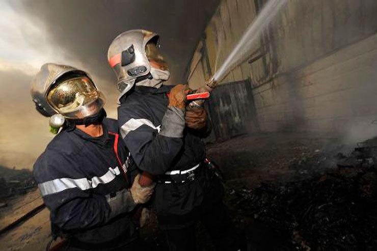 Le feu est maîtrisé et sous surveillance sur plusieurs secteurs