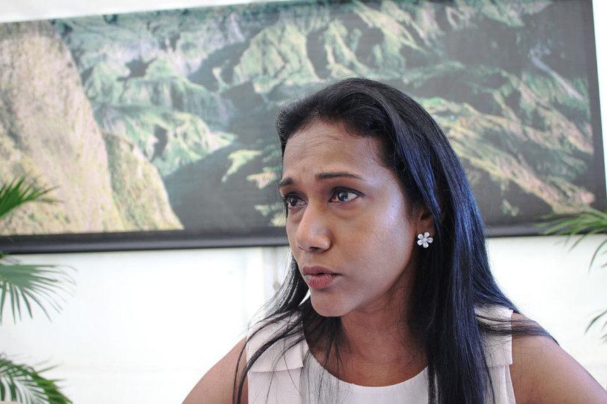 """Nadia Ramassamy : """"Je suis candidate dans la première circonscription de Saint-Denis"""""""