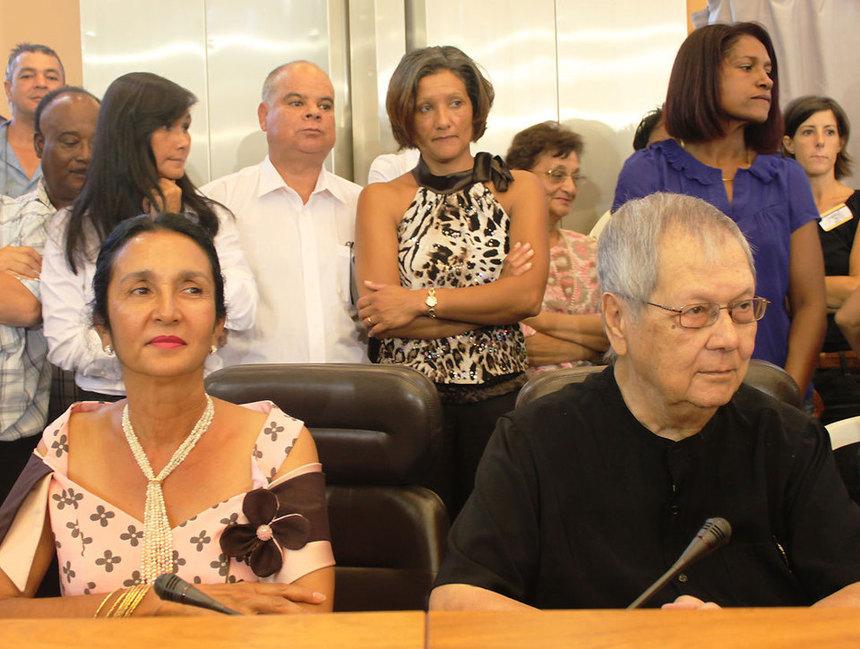 """Huguette Bello : """"Je continue à me présenter dans la deuxième circonscription"""""""