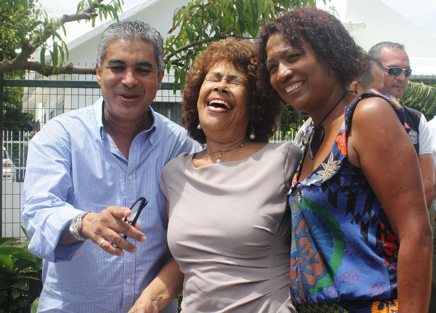 Camille Bonne, proche de JP Virapoullé, un soutien inattendu pour Yolande Pausé