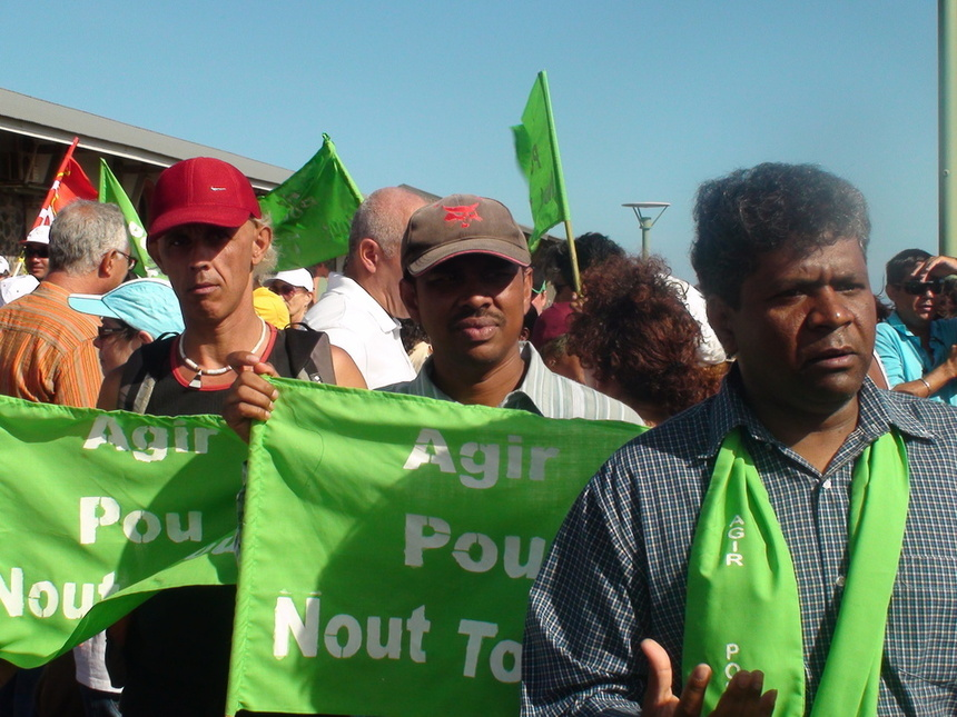 Les sections PCR de Salazie, Bras-Panon, St-Benoît et Plaine des Palmistes soutiennent JH Ratenon dans la cinquième