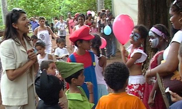 Carnaval au jardin de l'Etat