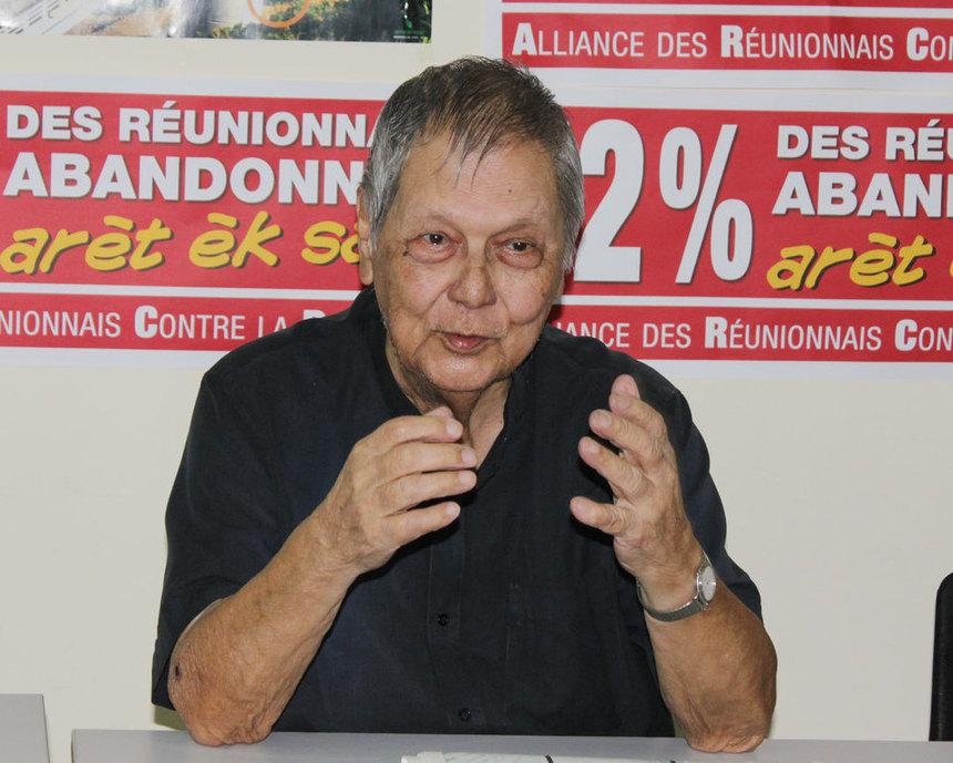 """Bayoune : """"En 2009, Paul Vergès, président de Région, a refusé 50 € d'aide aux travailleurs"""""""