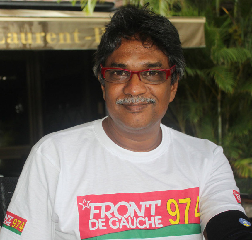 """Jean-Paul Panechou (FDG974) : """"Il est où Camille Sudre ? Il n'a rien à dire pour défendre les Réunionnais ?"""""""