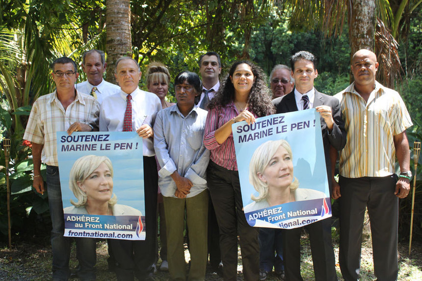 "La candidate du FN a 500 signatures : ""Marine mènera une politique de mains propres"""