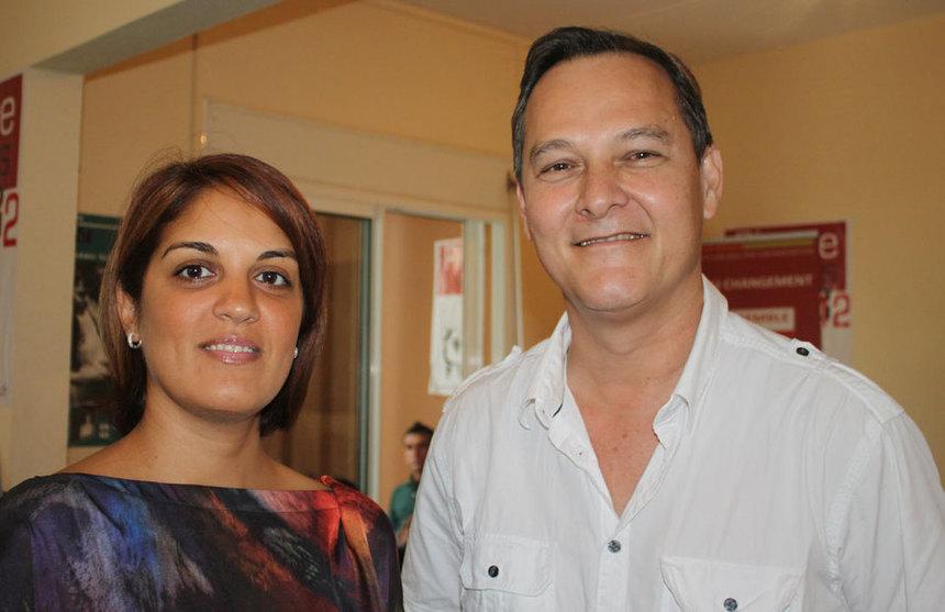 """Première circonscription : Pierre Vergès/Faïza Ibrahim, """"au nom de la parité et de la refondation du PCR"""""""