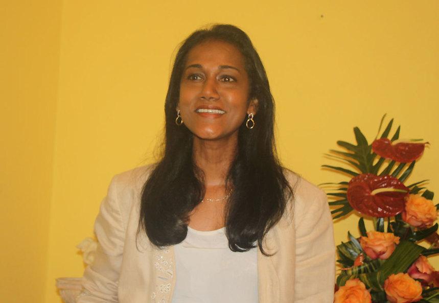 Nadia Ramassamy apporte son soutien uniquement à Jean-Louis Lagourgue