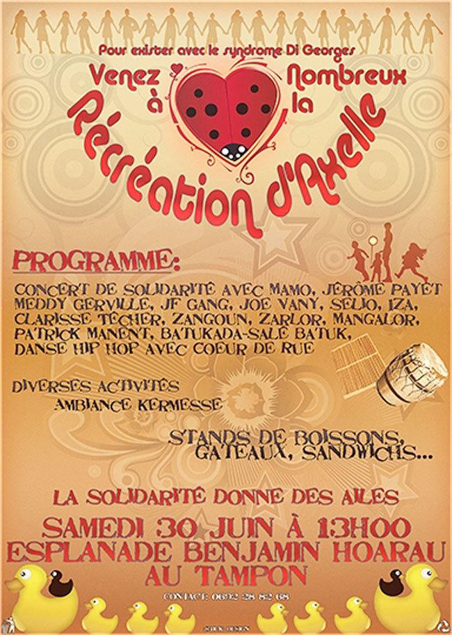 Concert de solidarité de l'association Cœur de coccinelle