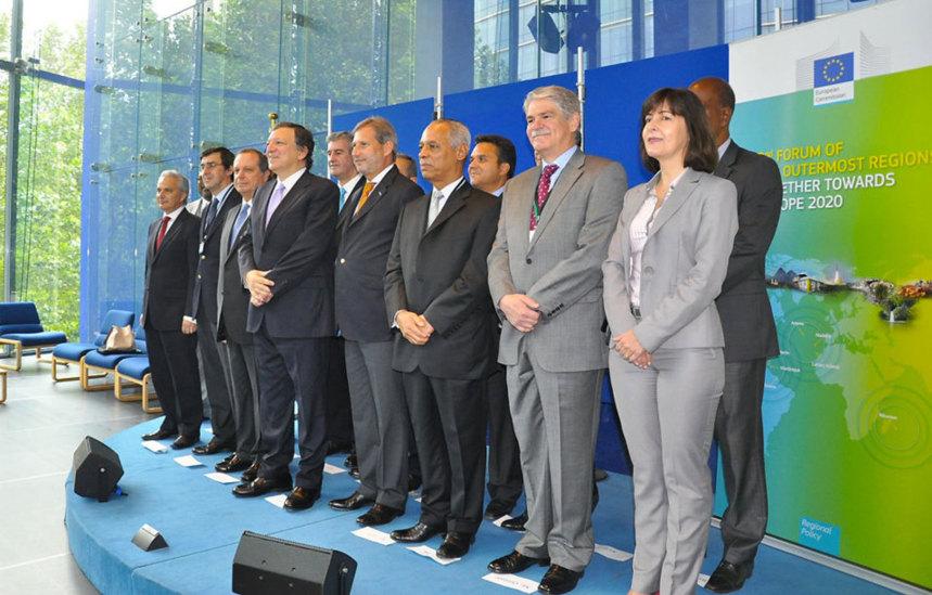 """Juan Manuel Barroso : """"Ce Forum doit apporter des réponses aux RUP"""""""
