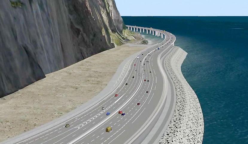 """Nouvelle route du Littoral : """"Quel choix pour cette route ?"""", s'interroge un internaute"""