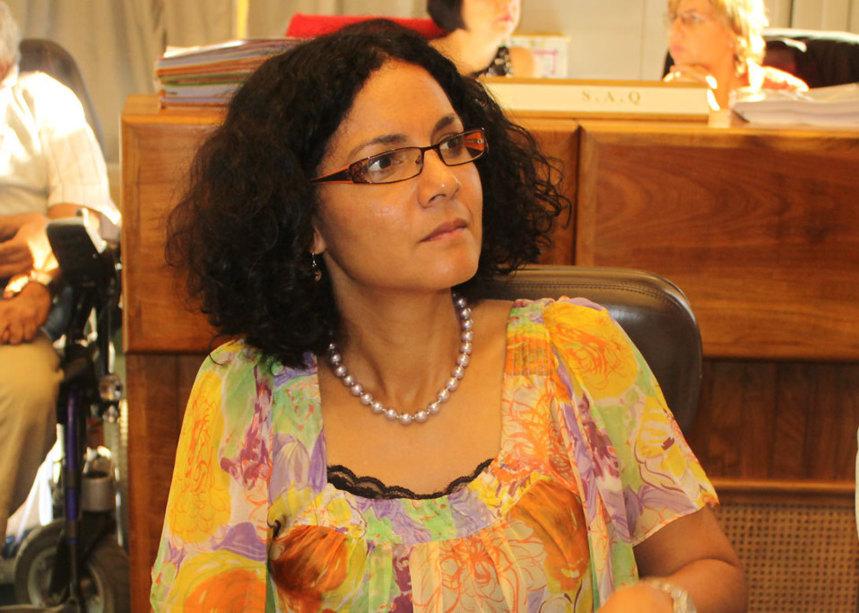 """Les inquiétudes de Nathalie Bassire """"quant au projet de loi concernant le mariage des homosexuels"""""""