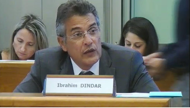 Ibrahim Dindar met Sarkozy et Hollande dans le même panier