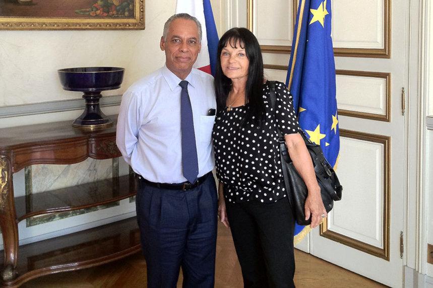 Jacqueline Farreyrol se félicite de la suppression des visas de tourisme pour les ressortissants sud-africains