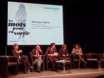 Monique Orphé a participé aux 8es rencontres Femmes du Monde contre les violences faites aux femmes