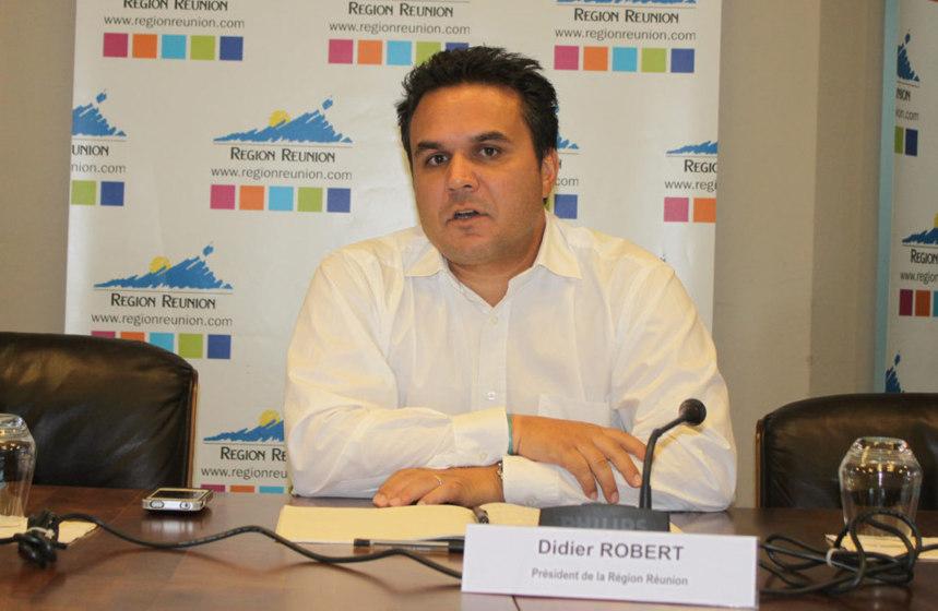 Didier Robert  : la route du Littoral, son (tram-)train pour les Régionales de 2015
