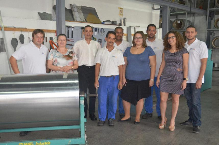 Zinc OI grave la bonne gestion humaine et le développement durable dans le zinc