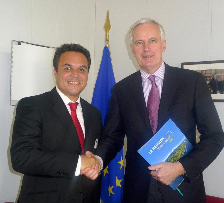 Europe : Didier Robert pour le maintien des aides et des règles mieux adaptées à La Réunion