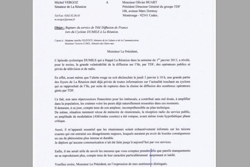 """Dumile : Michel Vergoz pointe du doigt la """"vulnérabilité"""" de TDF"""